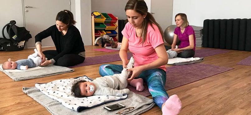 Yoga con tu bebé